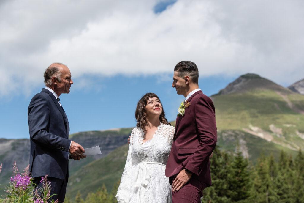 officiant switzerland elopement