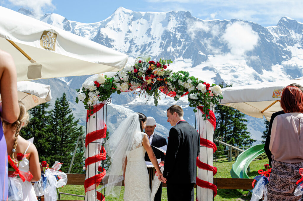 muerren Elopement planning Switzerland