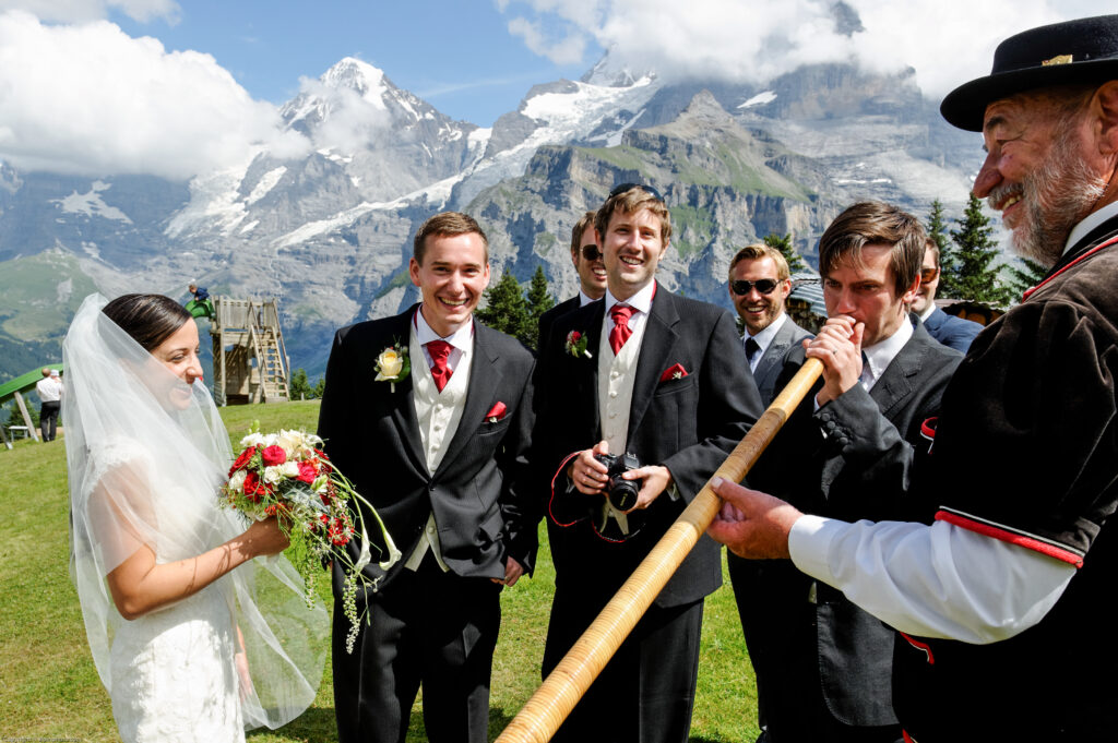 Marry in Switzerland, Interlaken, Muerren, Wengen