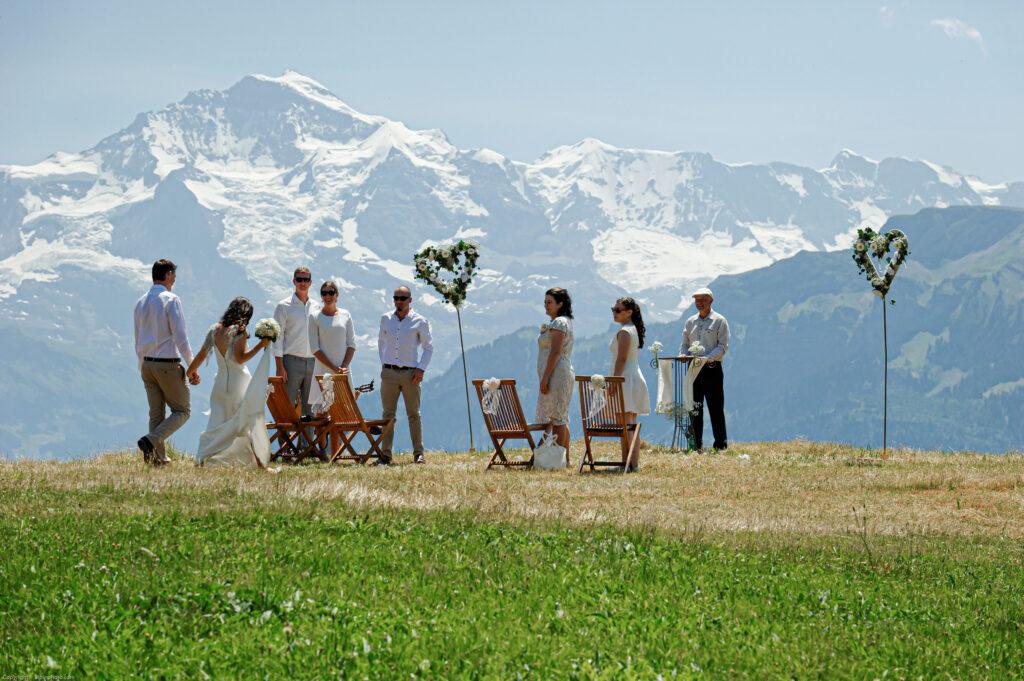 switzerland alps wedding and elopement