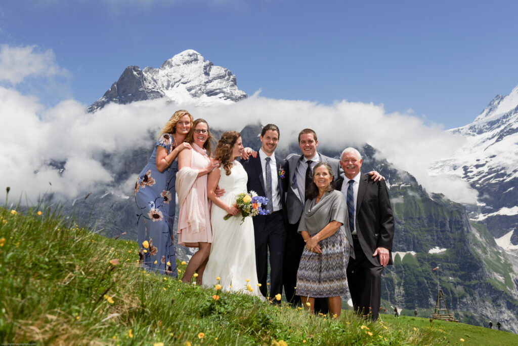 Elopement in Grindelwald