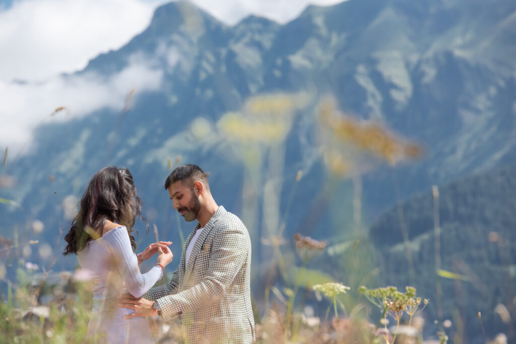 Marriage proposal Switzerland planning