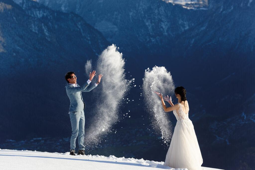Winter Elopement Photographer