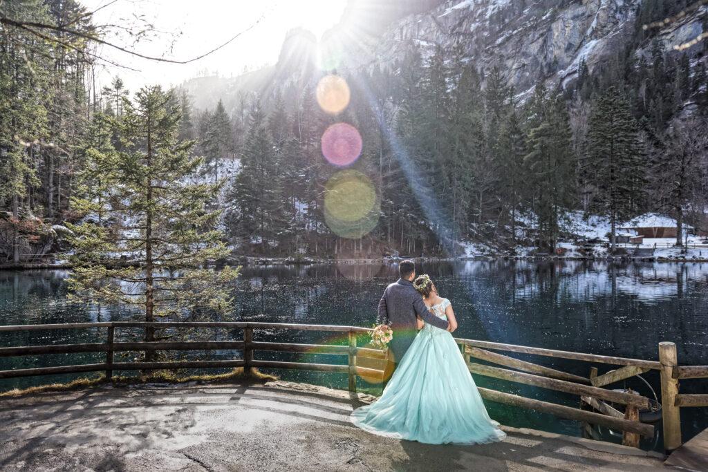 blausee elopement switzerland