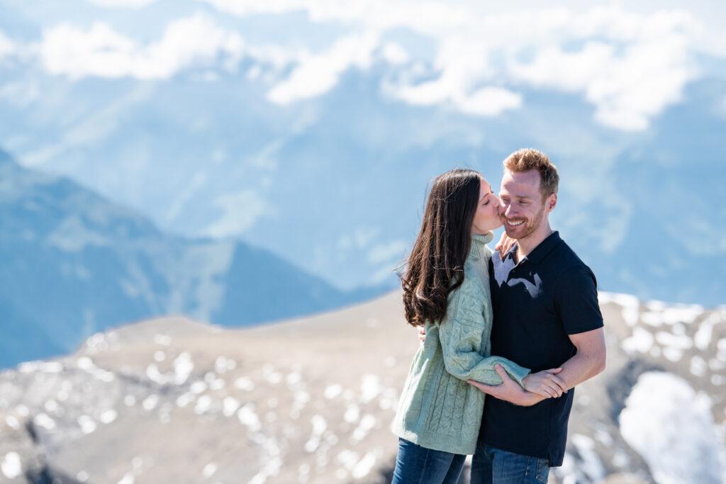 Wedding Proposal Muerren, Wengen, Grindelwald Photographer