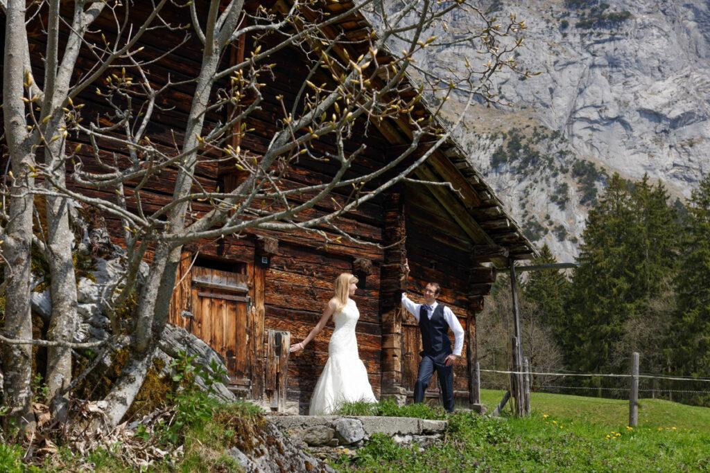 Grindelwald, Muerren, Wengen, Interlaken Elopement